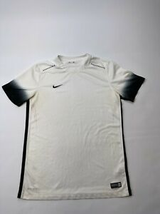 Authentic Soccer Nike Dri Fit Short Sleeve Crew Neck T Shirt Mens Size Med $15.00