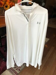 Under Armour Long Sleeve Polo Size XL $20.00
