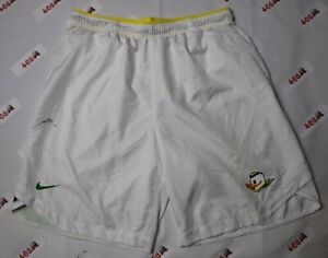 Nike Shorts Men's XL White Oregon Ducks Swoosh $19.99