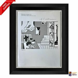 Roy Lichtenstein Original Print Signed and Stamped by Gallery with COA $185.00