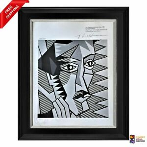Roy Lichtenstein Original Print Signed and Stamped by Gallery with COA $150.00