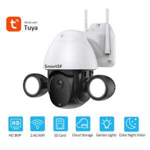 Wireless Security Camera 1080P Outdoor Battery Powered Two way Audio Full Color