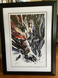 Sideshow Collectibles: Thor Shattered Art Print by Alex Ross Art Framed 51 300 $550.00