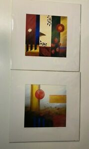 Artist Belsario Manrique Prints Signed and Numbered Lot of 2 $39.99