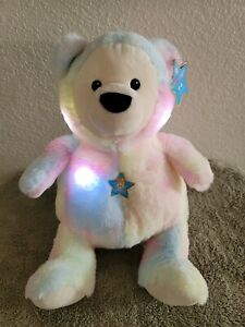 FAO Schwarz Glow Brights Plush Bear LED with Sound New With Tags $44.99