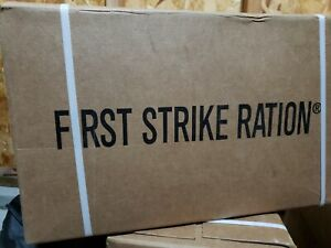 First Strike Ration best for camping for emerency storage