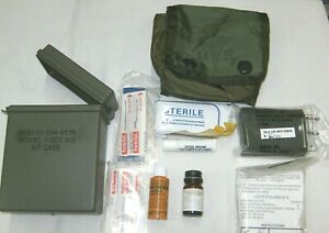 US First Aid Kit Individual Case amp; Insert Vintage Wickel amp; Absentee Shawnee A18