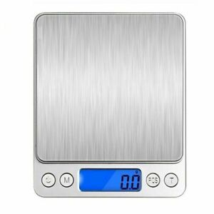Digital Scale Jewelry Pocket Gram Kitchen Food Gold Silver Coin Precise Grain US