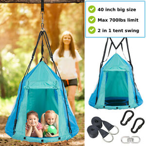 Patio Hammock Hanging Tree Tent Porch Swing Seat Outdoor Camping for Adults Kids