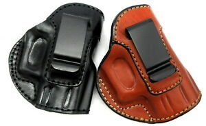 CLOSEOUT HolsterWorld Right Hand Leather IWB Inside Pants Holster CHOOSE $29.00