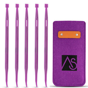 THAT PURPLE THANG Multifunctional Sewing Craft Quilting Tool 5 Pcs Felt Case $6.99