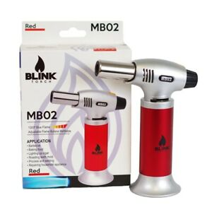 Cooking Torch Creme Culinary Food Blow Chef Kitchen Butane Flame Lighter