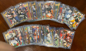 1991 Action Packed Football Limited 24kt Gold Complete Set 42 Cards HOF'ers etc. $399.99