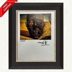 Salvador Dali Original Print Signed and Stamped by Gallery with COA $250.00