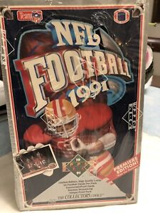 1991 upper deck football Limited Edition Premier Edition factory Sealed Box $20.00