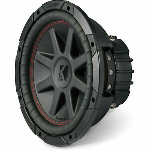 Kicker CompVR 10 Inch Car Subwoofer with Dual 4Ω Voice Coils *43CVR104 $74.60