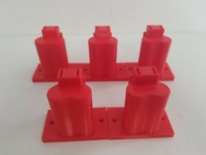 5 Pack 3D Printed Tool Holder Made For Milwaukee M12 Red