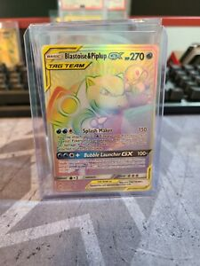 Blastoise Piplup GX Secret Rare 253 236 In NM Condition $79.99