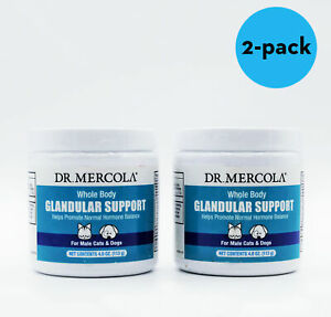 Lot of 2 Dr. Mercola Whole Body Glandular Support for MALE Cats Dogs $23.19
