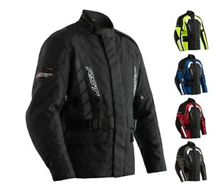 RST ALPHA IV 4 CE Men#x27;s Textile 3 4 Motorcycle Touring Waterproof Cheap Jacket