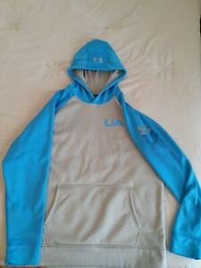 Under Armour Cold Gear Hoodie Mens LG Loose fit preowned $32.00