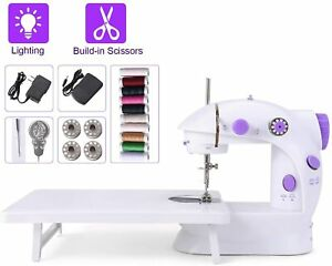 Portable Sewing Machine with Foot Pedal Dual Power Options for Handmade Lover $25.00