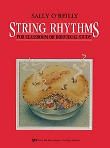 WS9VN STRING RHYTHMS FOR CLASSROOM OR INDIVIDUAL STUDY By Sally O#x27;reilly NEW