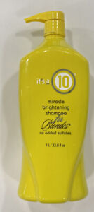 Its a 10 Miracle Brightening Shampoo for Blondes 33.8oz FREE SHIPPING $25.95