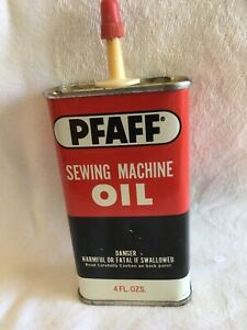 Vintage Pfaff Sewing Machine Oil Can. 4 Fl Oz. $8.70