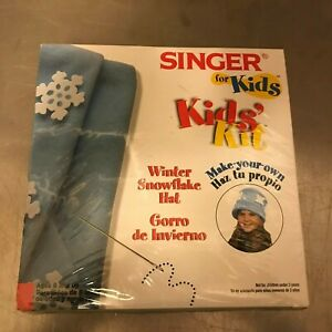 Singer for Kids Make a Snowflake Hat A $10.00