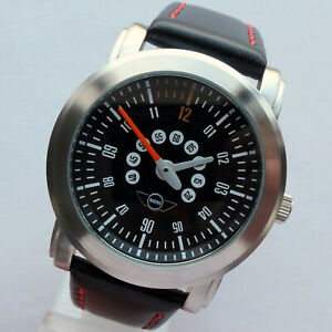MINI John Cooper Works S JCW Rally Racing Speedometer Design Car Accessory Watch $215.20