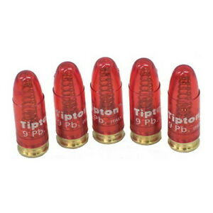 Tipton Snap Caps 9mm Luger Precision Metal Base Snap Cap Pack of 5 303958 $16.38
