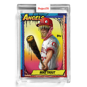 TOPPS PROJECT 70 #79 Mike Trout by Alex Pardee 🔥 In Hand SHIPS TODAY