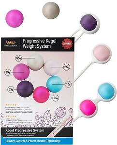 Ben Wa Progressive Weight System 6 Weights Kegel Balls Kit