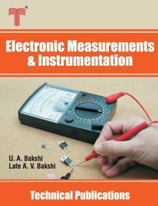 Electronic Measurements And Instrumentation: Analog And Digital Meters Sig... $103.04