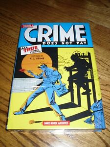 Crime Does Not Pay Volume 6 Hardcover Book Dark Horse Archives Sealed $18.95