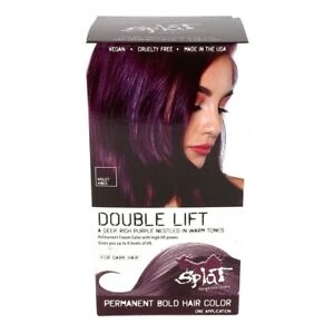 Splat Violet Vibes Double Lift Permanent Bold Hair Color for Dark Hair Purple $9.99