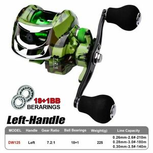 Ball Bearing Spinning Reels Fresh Saltwater Lure Fishing Reel Left or Right Hand