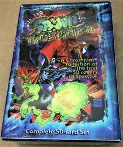 1997 Factory Spawn Chromium Archives Box by Wildstorm in sealed Factory wrap $49.99