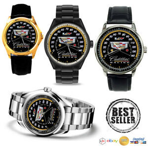 NEW Cadillac Racing Speedometer Custom Sport Unisex Adult Wristwaches $27.99