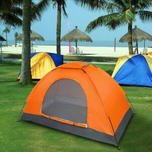 Waterproof Camping Dome Tent Automatic Pop Up Quick Shelter Outdoor Hiking