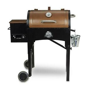Pellet Grill Folding Legs 340 Sq. In. Portable Tailgate Camping Outdoor Barbecue