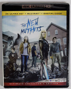 THE NEW MUTANTS Ultimate Collector#x27;s Edition 4k Ultra HD Blu ray Digital Code $13.99