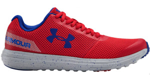 Under Armour Shoes Kids 6Y Authentic Grade School Surge RN Sneaker Red with Blue $49.99