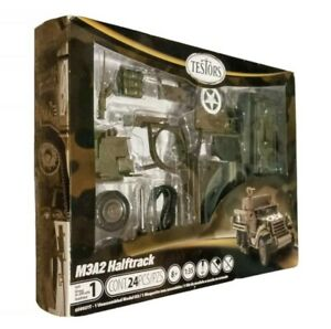 Testors M3A2 Halftrack Armored Personal Carrier 1:35 Scale Military Kit Model $23.11