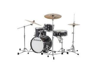 Ludwig Breakbeats by Questlove 4 Piece Shell Pack Black Sparkle $346.88