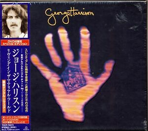 SEALED George Harrison LIVING IN THE MATERIAL WORLD Japan CD DVD box set $39.95