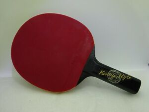 Vintage Butterfly Table Tennis Racket Kenny Style Soft D 13 $299.99