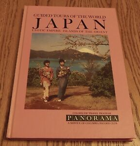 Guided Tour of the World Japan Vintage Book **SUPERIOR CONDITION** $6.75