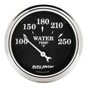 Auto Meter For 2 1 16 Air Core Old Tyme Water Temperature Gauges 100 250F 1737 $69.13